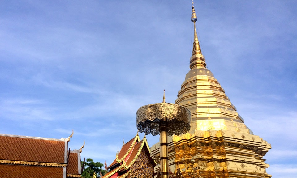 Doi Suthep temple chiang mai