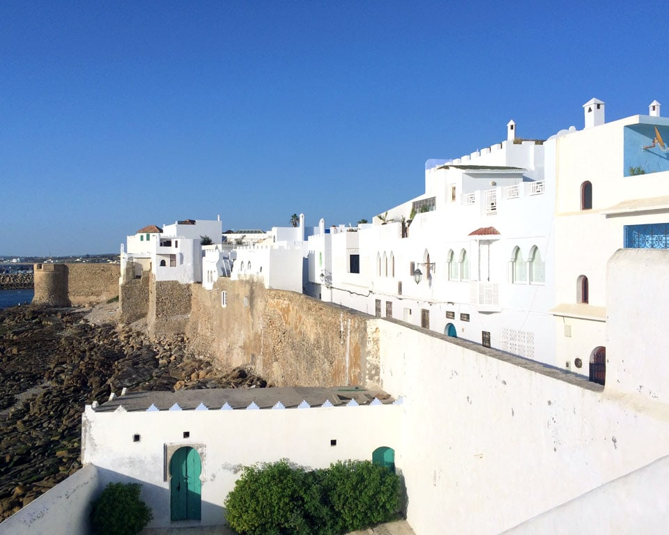 A Quick Guide To Discovering Moroccos Hidden Seaside Town Asilah - Old town morocco entirely blue