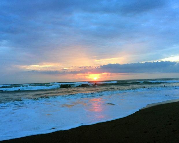 Sunsets in Canggu Bali