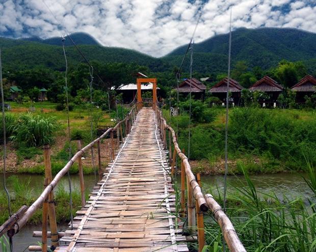 Pai Bridge Thailand