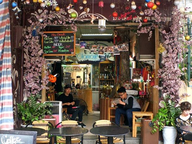 Cafe Scene Hoian