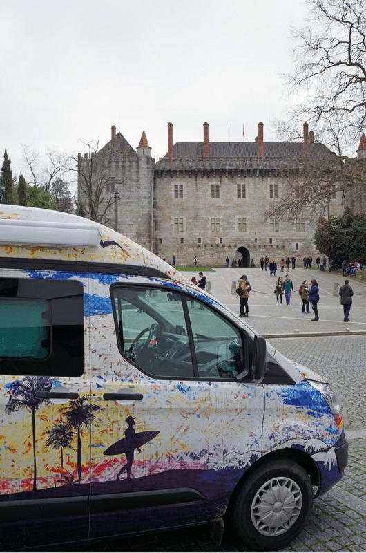 sightseeing in Guimarães Portugal