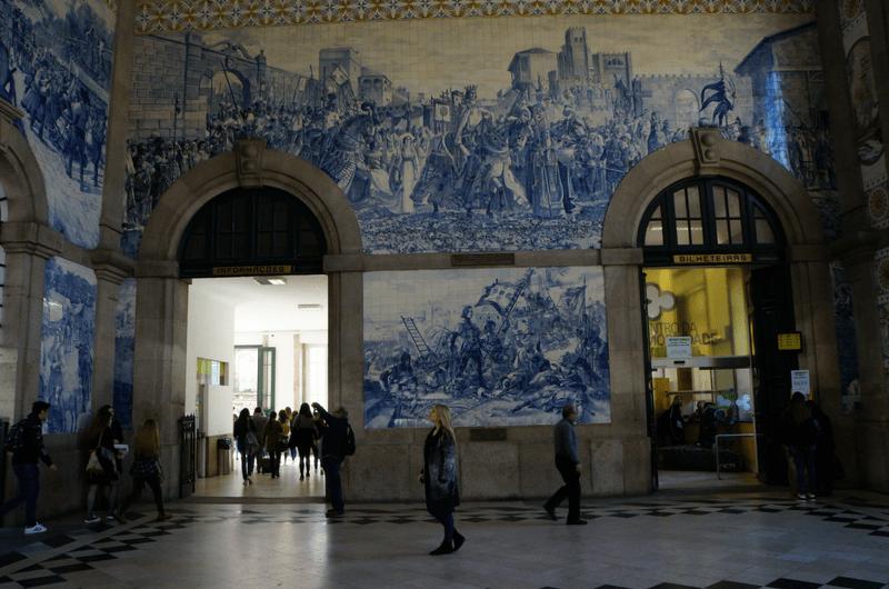Sao Bento train station Portugal