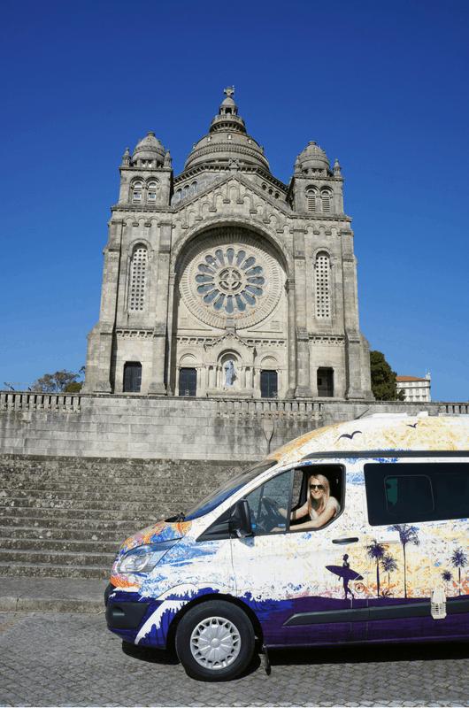 sightseeing at Viana do Castelo