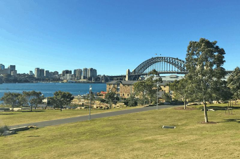 exploring Barangaroo in Sydney, Australia