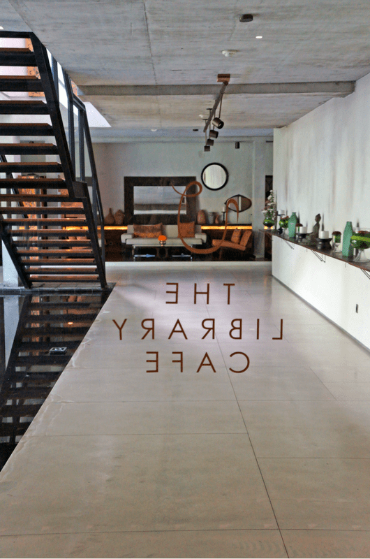 The Library Café Bisma Eight Ubud