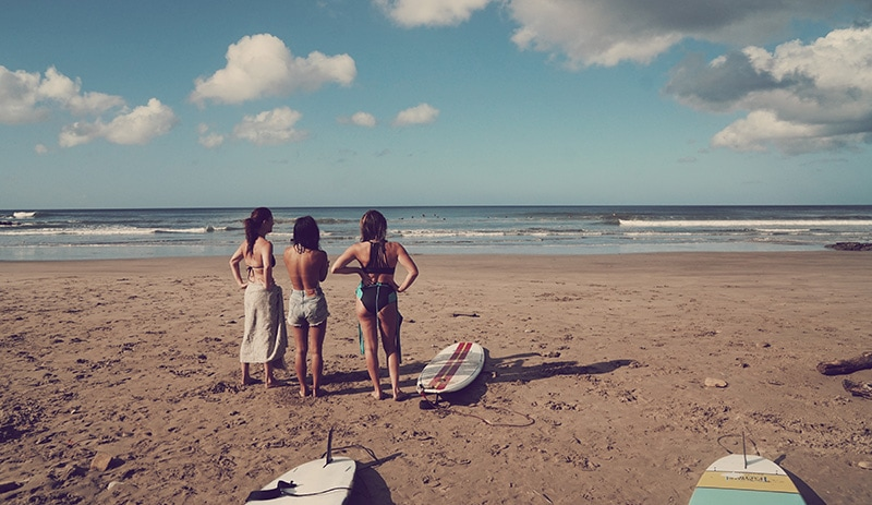 Nicaragua surfing San Juan