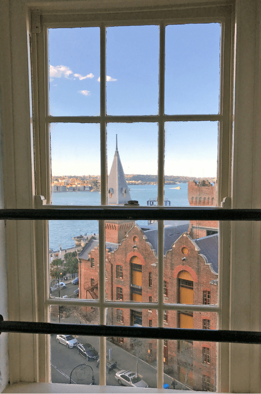 Holiday Inn Old Sydney views
