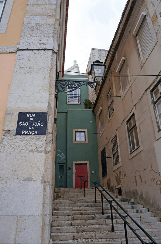 Lisbon streets in Portugal