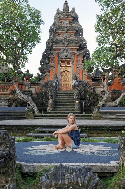 Lotus temple Ubud Bali