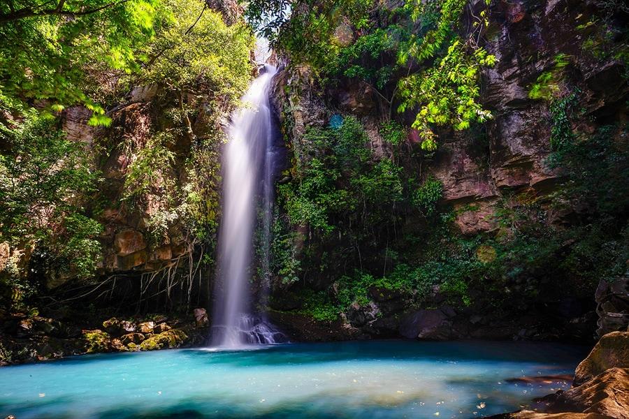 Costa Rica Natur Waterfall