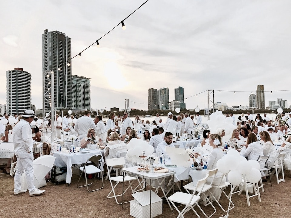 location Diner en Blanc Gold Coast