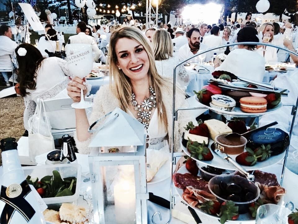 Australia Diner en Blanc
