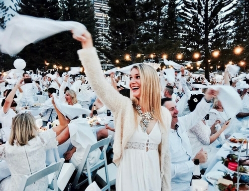 A Magial Night At The Dîner En Blanc Gold Coast