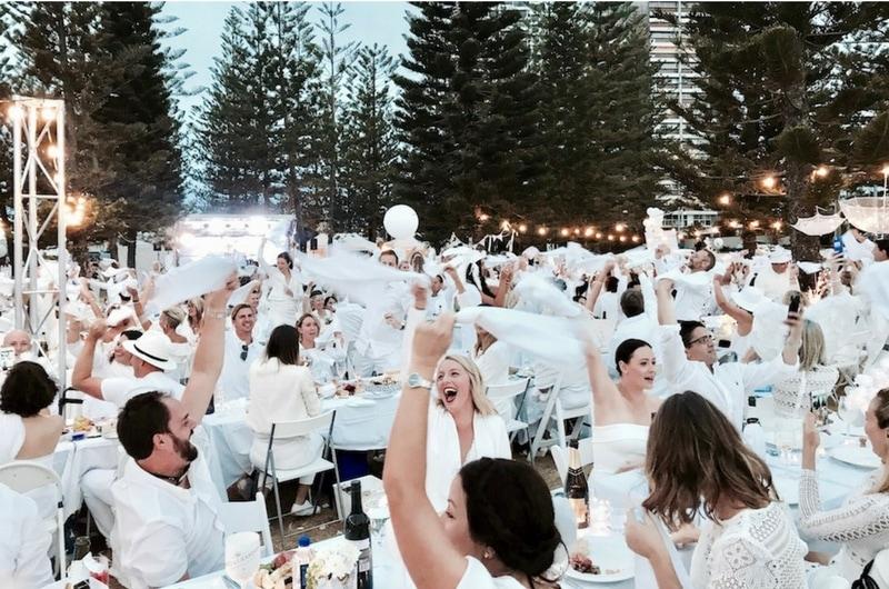 Diner en Blanc Gold Coast