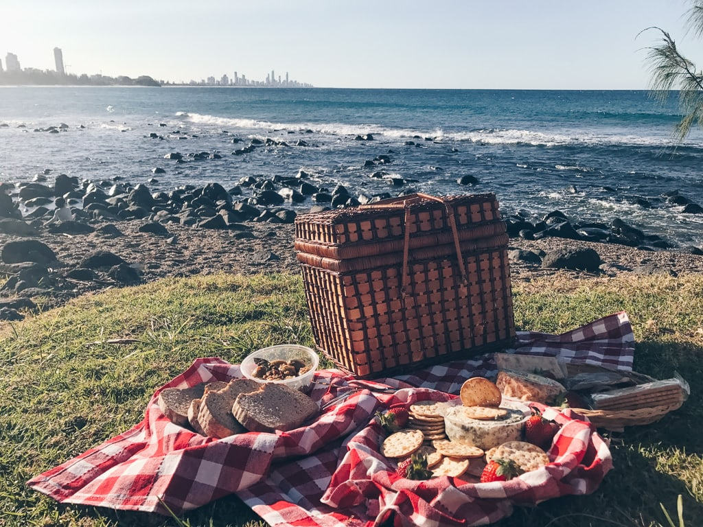 picnic at the Gold Coast Australia
