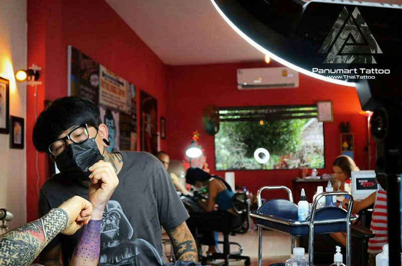 tattoo shop chiang mai thailand