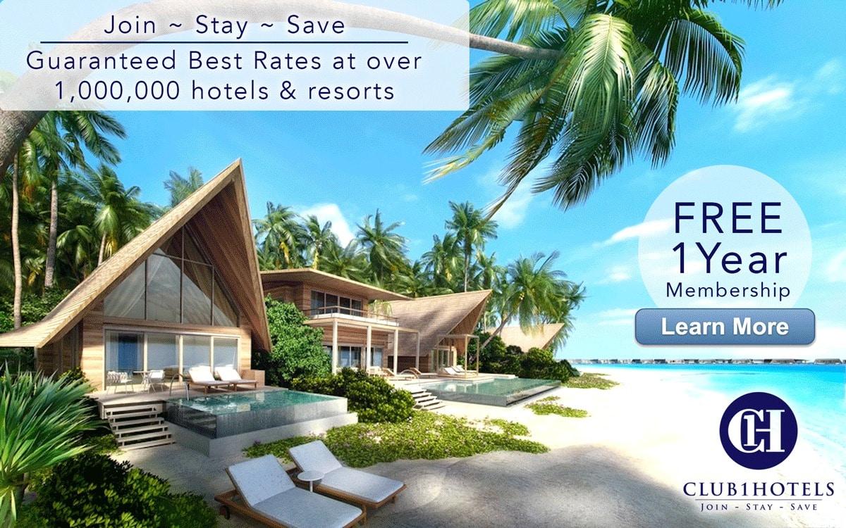 Club 1 Hotel Savings