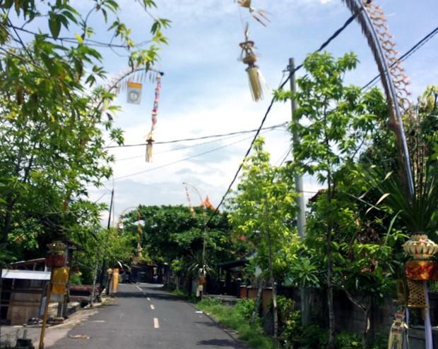 Streets of Canggu Bali