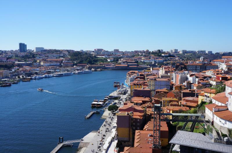 view over Porto in Portugal