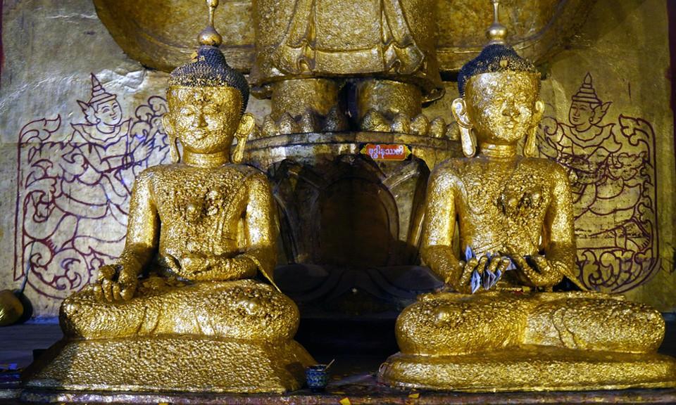 Myanmar 8 days gold Buddha