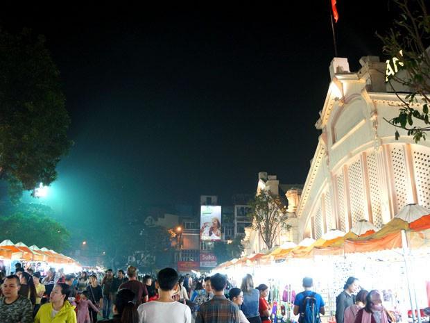 Night Market Hanoi