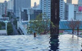 Bangkok rooftop pools