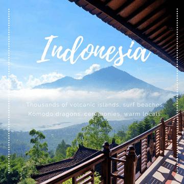 Destination Indonesia