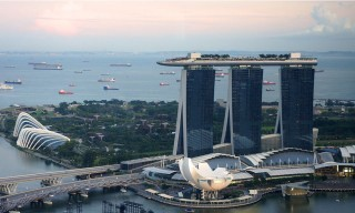Marina Bay Sands view Singapore