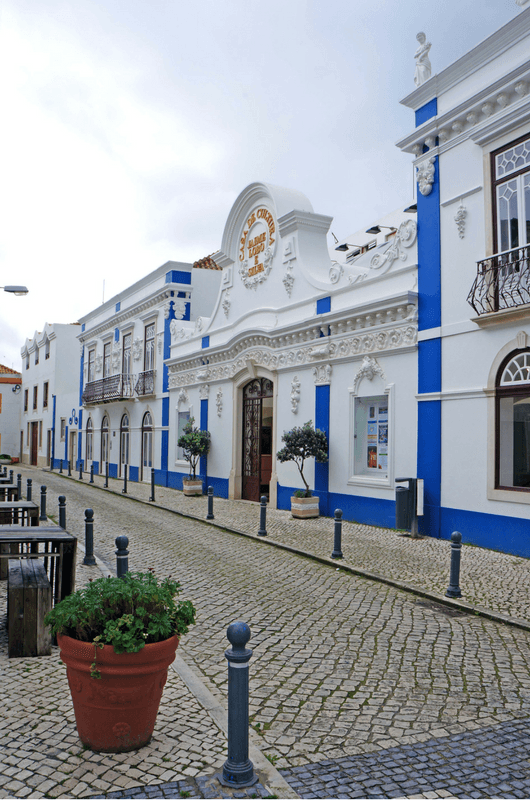 walking Ericeira streets in Portugal