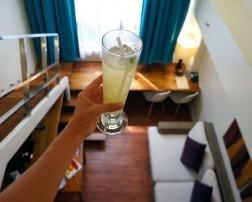Welcome Drink at Ferra Hotel Boracay